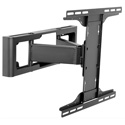 Peerless HPF650 Flat Panel Pullout Pivot Monitor Mount for 32 to 55 Inch Displays - Black