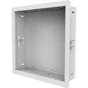 Peerless IB14X14-W 14X14-In Wall Box for Recessed Power and AV Components
