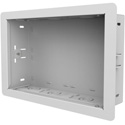 Peerless IB14X9-AC-W 14X9-In Wall Box for Recessed Power and AV Components