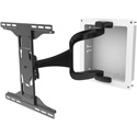 Peerless IM747PU DesignerSeries Articulating Mount with In-Wall Box FOR 37 to 65-inch Ultra-Thin Displays