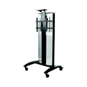 Peerless-AV SR575E Flat Panel Video Conference Stand/Cart for 32 - 75 Inch Displays