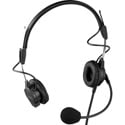 RTS PH-44P Dual-sided Headset with Dynamic Boom Mic Pigtail Termination