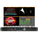 Phabrix PHRX1000AGE Rx 1U 19 Inch Rack Mount Chasis - 4 Module Bays - HD/SD-SDI Base Unit with CPU Module