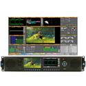 Phabrix PHRX2000AE Rx 2U 19 Inch Rack Mount Chassis HD/SD-SDI Base Unit w/ CPU Module Analyzer with Eye/Jitter Included