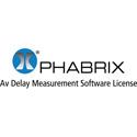 Phabrix PHRXO-AVD AV Delay Analyzer Software License - Supports EBU and LAWO AV Delay Sequences