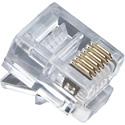 Platinum Tools 106128J RJ12 Conector (6P6C) Flat-Stranded - 100/Jar