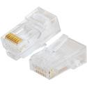 Platinum Tools 106148J Standard CAT5e RJ45 Modular Plugs (8P8C) - Round-Stranded - 100/Jar