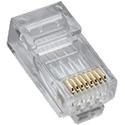 Platinum Tools 106163J RJ45 (8P8C) Cat5e HP Round-Stranded - 100/Pack