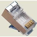Platinum Tools 106183C RJ45 (8P8C) Cat 5e Shielded Modular Connector - 10 Pack