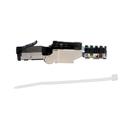 Platinum Tools 106230 Shielded Cat6A Flex Connector - Each