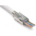 Platinum Tools 202022J EZ-RJ45 Shielded External Ground Connectors - 50/Jar