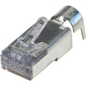 Platinum Tools 202052J ezEX48 10G RJ45 Shielded Connector w/ Ext. Ground for OD Range .043in - .048in and POE - 50pk