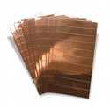 Platinum Tools 2039 Copper Foil Strips - 100 Pack (10 sheets of 10 strips)