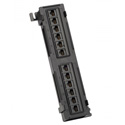 Platinum Tools 660-12C6 12 Port Cat6 Non-Shielded Patch Panel