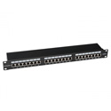 Platinum Tools 668-24C6S 24 Port Cat6 Shielded Patch Panel