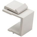 Platinum Tools 790WH-10 Keystone Blank Insert - White - 10 / Pkg