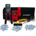Platinum Tools 90147 ezEX-RJ45 Cat5/5e Cat 6/Cat 6A Terminate & Test Kit