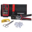 Photo of  Platinum Tools 90148 EXO ezEX-RJ45 Termination Test Kit