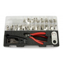 Platinum Tools 90180 Termination Kit for Cat6A / 7 Connectors - 28 - 26AWG Range