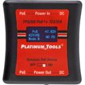 Platinum Tools TPS200C Dual RJ45 / 5.5mm DC Jack PoE Tester