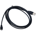Pliant Technologies 00003402 USB to USB Micro Cable for use with Radio Packs - 6 ft (1.8 m)