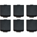 Pliant CRP-MGKIT-6PK Replacement Magnetic Battery Cover Kit for all Crewcom Wireless Radio Packs - 6 Pack