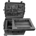 Pliant Technologies PAC-CC-6CASE CrewCom 6-Up Travel Case with Custom Foam and Lid Organizer