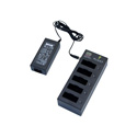Pliant Technologies PBT-5BAY-PAK 5-bay Charger Pack Includes (5) Li-Poly Batteries