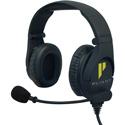 Pliant PHS-SB210E-4F SmartBoom Pro Dual Ear Electret Headset - 4-Pin Female XLR Cable