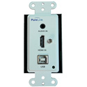 PureLink HWCE Transmitter/Receiver 4K HDMI & USB 2.0 over HDBaseT™ Wall Plate Extension System