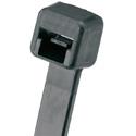 Panduit PLT2M-C0 Pan-Ty 8-Inch Nylon 6.6 18 Lb. Cable Tie - Black - 100 Pack
