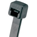 Panduit Pan-Ty Weather Resistant 11.4-Inch 40 Lb. Cable Tie - Black - 100 Pack