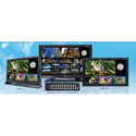 Plura MVM-147-16 46 Inch (16 CH HDSDI Multiviewer) Broadcast Monitor (1920x1080) Class A