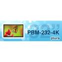 Plura PBM-232-4K 32 Inch - 4K Broadcast Monitor (3840 x 2160) - 4K - HDR Capability