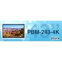 Plura PBM-243-4K 43 Inch - 4K Broadcast Monitor (3840 x 2160) - 4K - HDR Capability