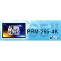 Plura PBM-265-4K 65 Inch - 4K Broadcast Monitor (3840 x 2160) - 4K - HDR Capability