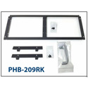 Plura PHB-209RK Fixed Rack Mount for PHB-209-3G