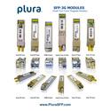Plura SFP-3G-TXRX-1310F-LC-MH SFP Module - 3Gbps SDI Optical Transceiver (1310nm)-LC-F