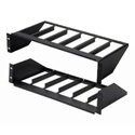 ATX Networks MOR-S6 Rack Mount Vertical Rack Shelf (2.8 Inch x 6 units)