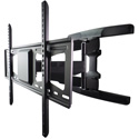 Premier Mounts AM95 Low-Profile Dual Stud Dual Arm Swing Out Flat Panel Mount - Up to 95lbs