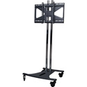 Premier Mounts EBC72B-MS2 Mobile Presentation TV Cart Combination EBC72B-MS2 (Black)