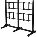 Premier Mounts MVWS-2X2-4655 Modular Two-By-Two Video Wall Stand for 46 in. and 55 in. Thin Bezel Flat-Panel