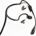 Point Source Audio CM-i3-5M Dual In-Ear Intercom Headset with 5-Pin Male XLR