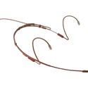 Point Source Audio CR-8D-XSE-BR Series 8 Cardioid Headset Microphone for Sennheiser - Brown