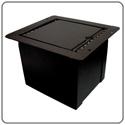 Pro Co POCKETMINI-GAP Sound Pocket Mini Recessed Floor Box Stage Pocket with 3/8 Inch Gap/Slot Lid