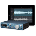 PreSonus AudioBox iTwo 2x2 USB 2.0 / iPad / MIDI Recording Interface with 2 Mic Inputs