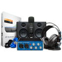 PreSonus AUDIOBOX STUDIO ULTIMATE BUNDLE - AudioBox USB 96 / HD7 Headphones / M7 Mic / Studio One Artist / Eris E3.5