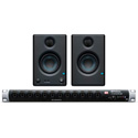 PreSonus StudioLive 16R 16x8 Digital Rack Mixer with 16 Recallable XMAX Preamps and FREE Eris E3.5 Monitors (Pair)