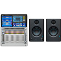 PreSonus StudioLive 16 Series III 16-Channel Digital Mixer with FREE Eris E3.5 Monitors (Pair)