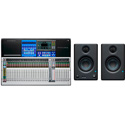 PreSonus StudioLive 32 Series III 32-Channel Digital Mixer with Moving Faders and FREE Eris E3.5 Monitors (Pair)